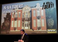 N-VA Toert met Bart De Wever in Hoboken
